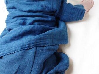 ベビー藍染パンツの画像