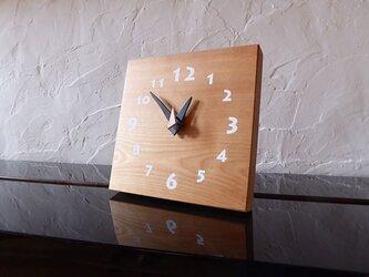 マカバの時計 18センチ 001s 文字盤白色の画像