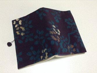 333    ☆再販☆     錦紗     椿      文庫サイズブックカバーの画像