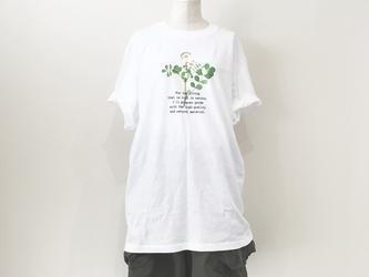【送料無料】BigTシャツ押し花プリントT/レンゲの画像