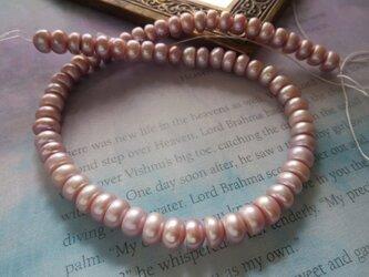 *♥*Borneo Saltwater Pearls Purplish Pink 70pcs*♥*の画像