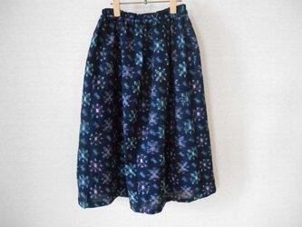 Sale★可愛い薄手絣模様のスカートの画像