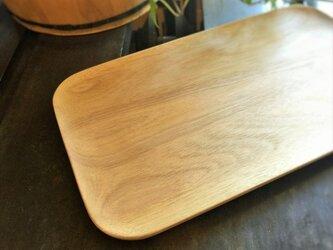 ウッドトレイ/Wood tray サワクルミ材の画像
