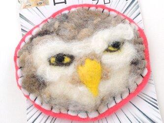 目ガ死ンデルブローチ:フクロウの画像