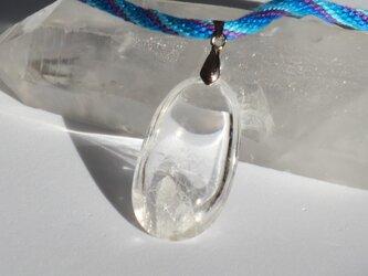 クォーツ・イン・クォーツ(貫入水晶) ネックレスの画像