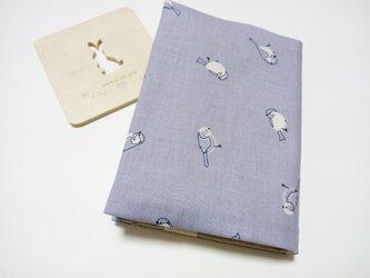 (文庫本用)繊細なタッチの小鳥さん*  ブックカバーの画像