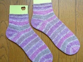 手編み靴下 ラナグロッサ 6102の画像
