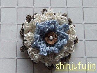【Sold】お花畑のコサージュ67の画像