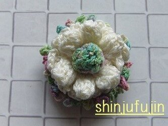 【Sold】お花畑のコサージュ68の画像