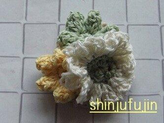 【Sold】お花畑のコサージュ70の画像