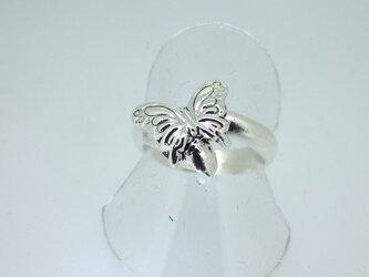 蝶のリングの画像