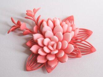 セダム ブローチ ピンクの画像