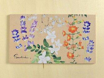 イラストボード 夏のお花の画像