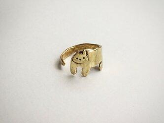 まとわりネコのリングの画像