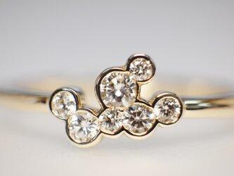 【N様オーダー用】メレダイヤモンド指輪の画像