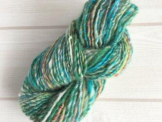 手紡ぎ糸 T-008 30gの画像