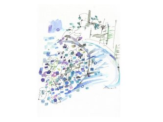 紫陽花小道の画像