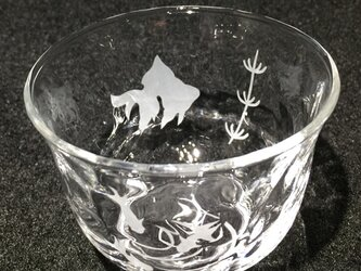 金魚の冷茶グラス2の画像