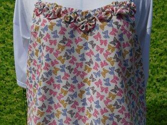 リボン柄花付きパールキャミソールの画像