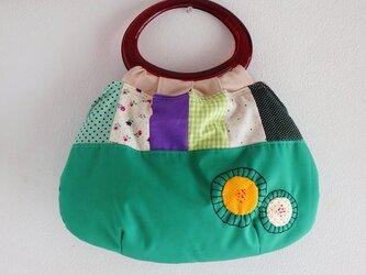 (♪値下げしました♪ )レトロなリングバッグの画像