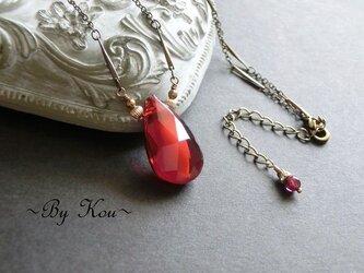 =◆魅惑RED◆=vintage ネックレス。の画像