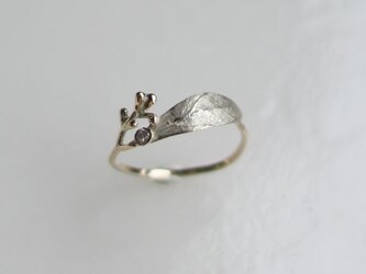 K10 オリーブのつぼみのリングの画像