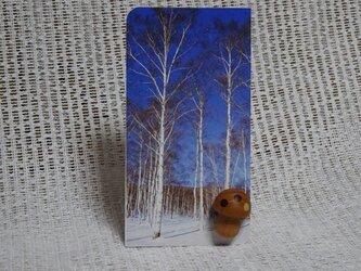 きのこのカードスタンドの画像