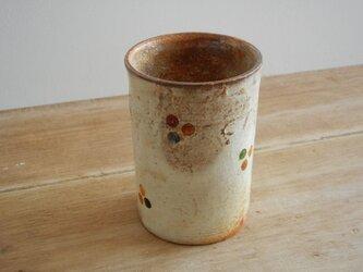 百色(ももいろ)象嵌 フリーカップ 丸紋の画像