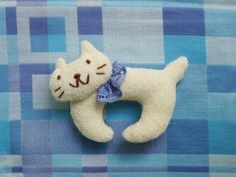 ネコのにぎにぎの画像