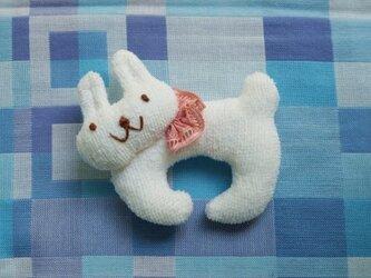 ウサギのにぎにぎの画像