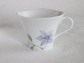 クレマチスのマグカップの画像
