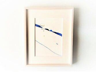 「八朔の季節」イラスト原画/額縁入りの画像