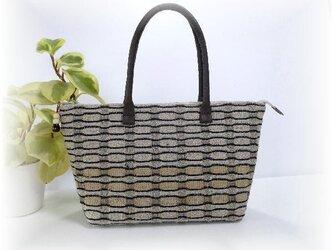 めがね織りのバッグ B-080の画像