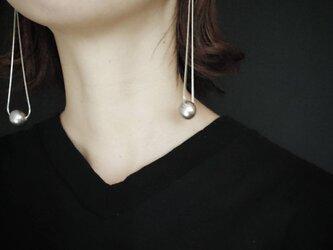 送料無料 particulier / earring〈pelote〉の画像