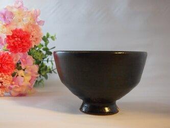 夜の黒茶碗の画像