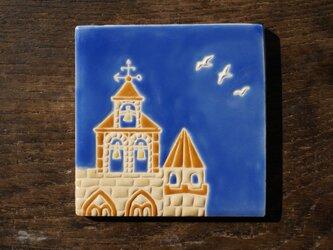 教会とカモメ  Igrecia y Gaviotas[Sold]の画像