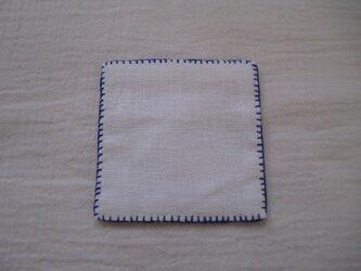 刺繍コースターの画像