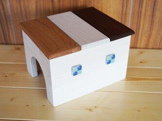 カラフルなおうち♪木製ハウス/[はりねずみ・ハムスター・テグー・そのほか小型ペットに]の画像