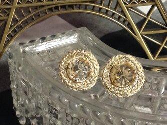 Boucles d'oreilles bijou rond トパーズの画像