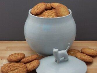 アイスブルー・クッキージャー・ニャンコー2の画像