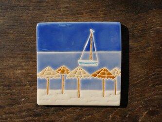 砂浜とカモメ Playa y Gaviota[Sold]の画像