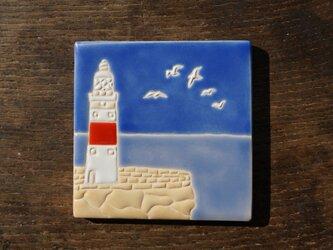 灯台とカモメ Faro y Gaviotaの画像