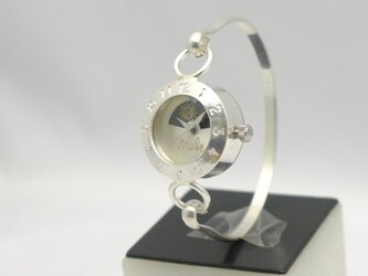 """Silver Armlet3SW-S&M"" Lady's Silver Sun&Moon [289MSV-S&M]の画像"