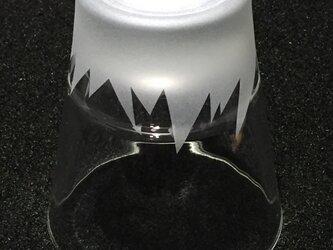 富士山のグラスの画像