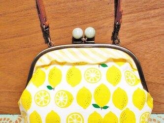 がまぐちポシェット レモンの画像