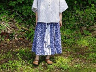 着物リメイク 浴衣のスカート Gの画像