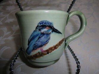 かわせみのマグカップの画像