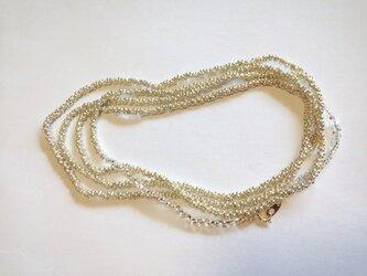 tsubu  tsubu silver ロングネックレスの画像