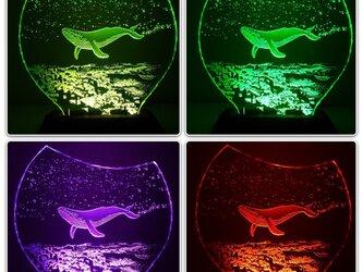 【購入不可・商品説明】カラースタンド・リモコンセット/mayasworks エッチンググラスの画像