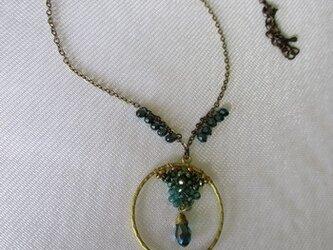 ビジュー チェコビーズのネックレス   の画像